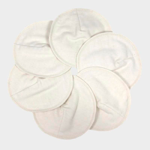 Reusable & Washable Breastfeeding Nursing Pads - 3x pairs