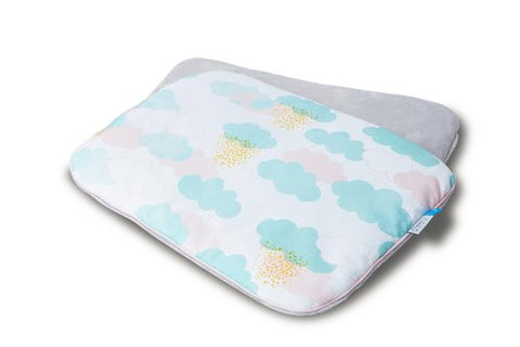 Baby Flat Pillow | Clouds Print Size M