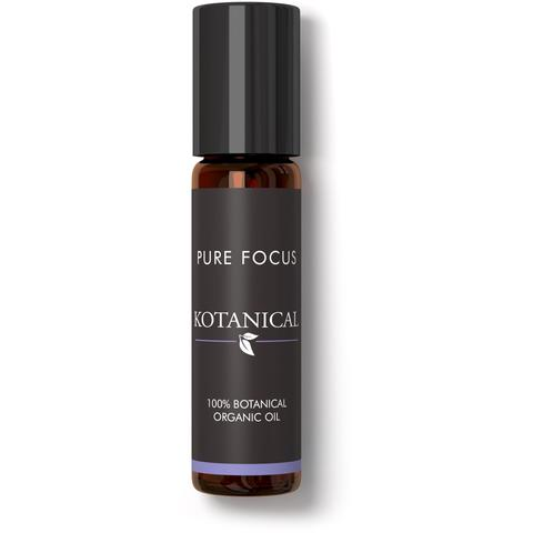 Pure Focus Essential Oil Rollerball 'Fresh & Herbal' by Kotanicals