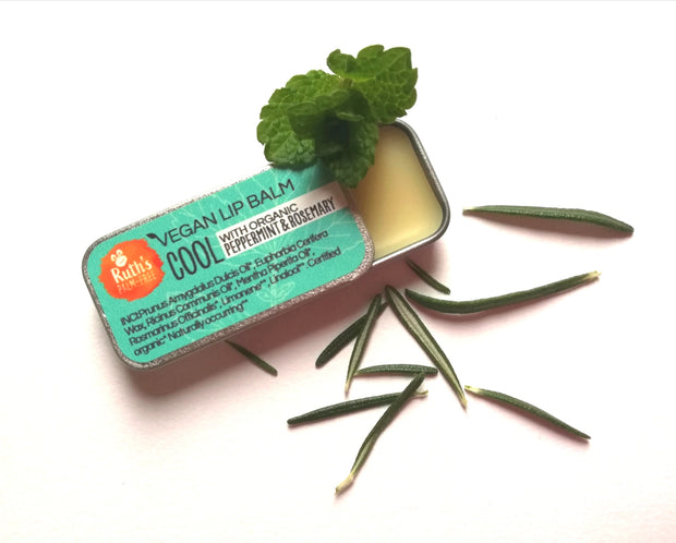 Vegan Lip Balm - Cool by Ruth's Palm-Free