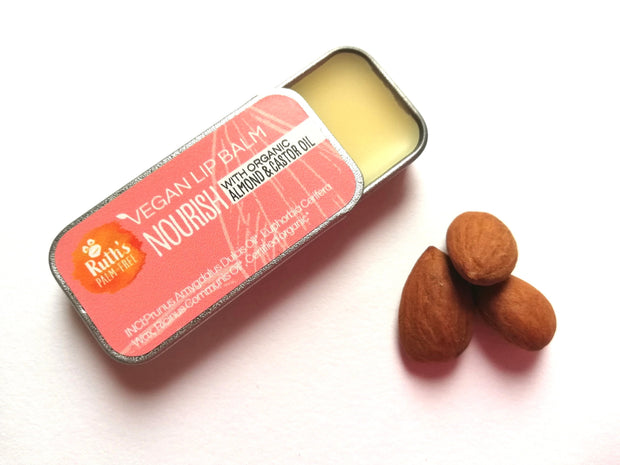 Vegan Lip Balm - Nourish by Ruth's Palm-Free
