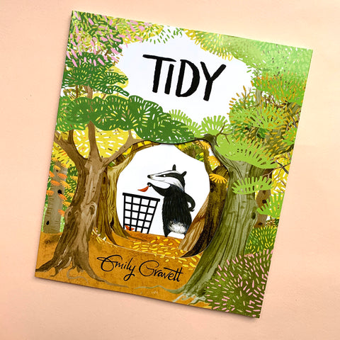 Tidy | A Book by Emily Gravett