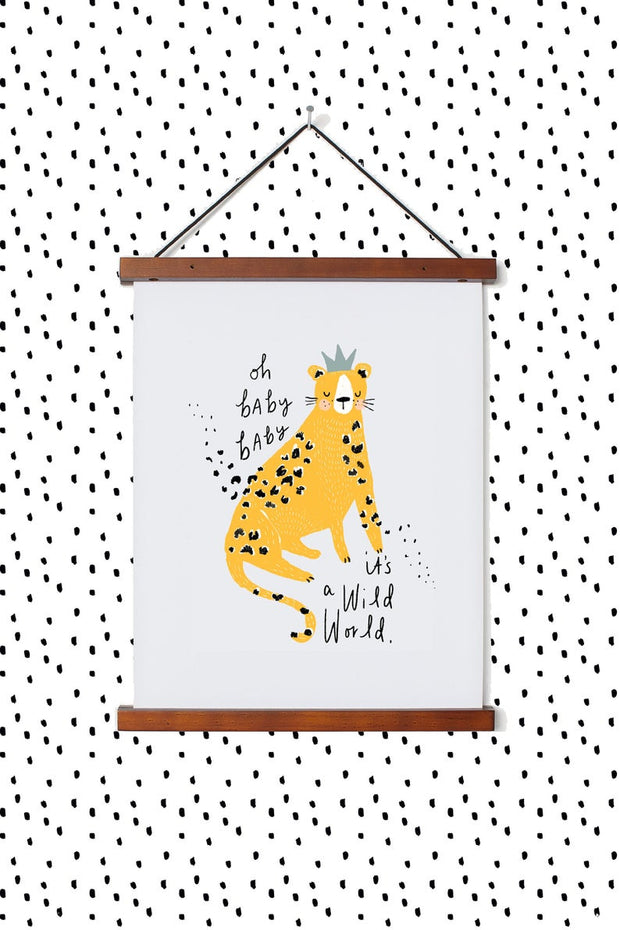 Wild World Print by Pickled Pom Pom