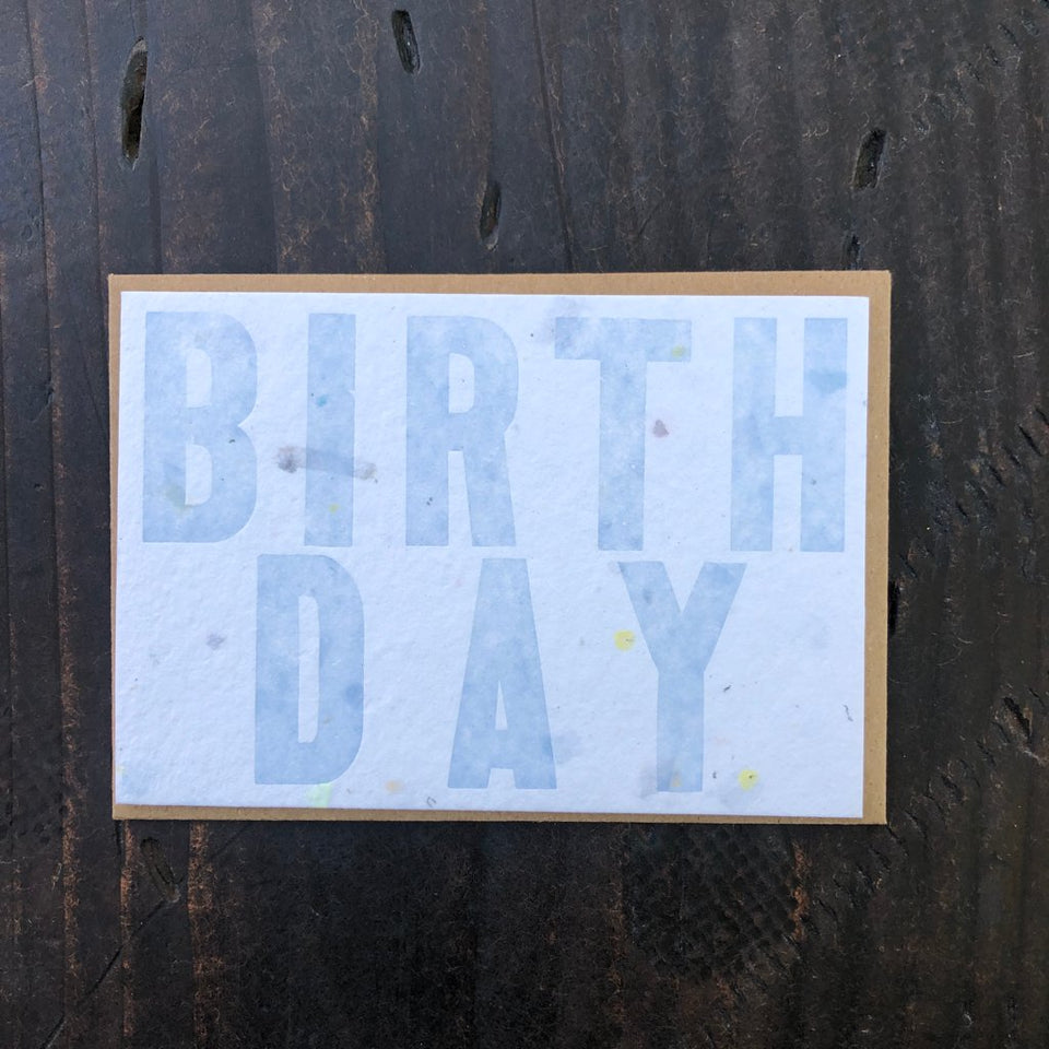 Letters - Individual Cards - Birthday