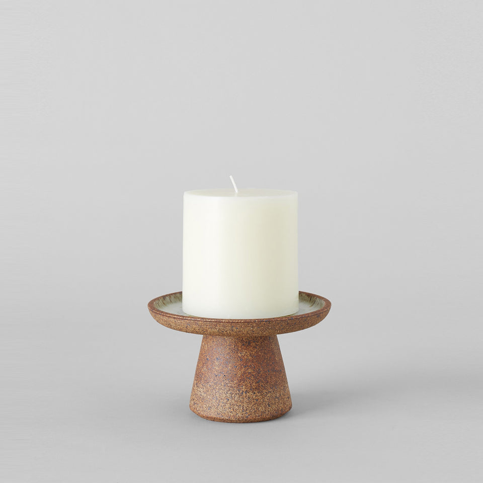 Birch White Candle Stand
