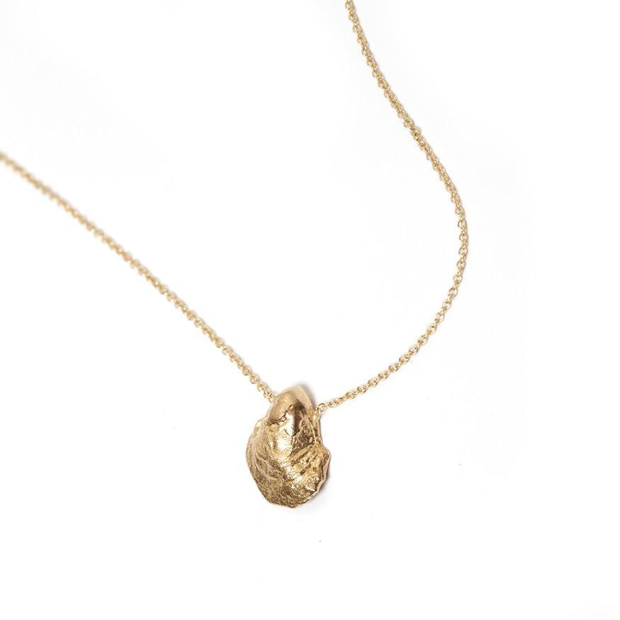 Tiny Oyster Necklace
