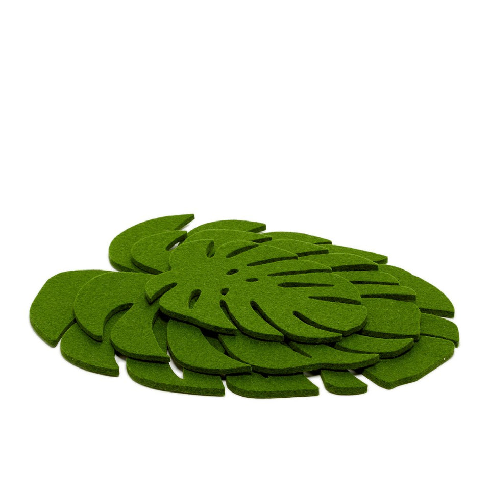 Monstera Trivet Large