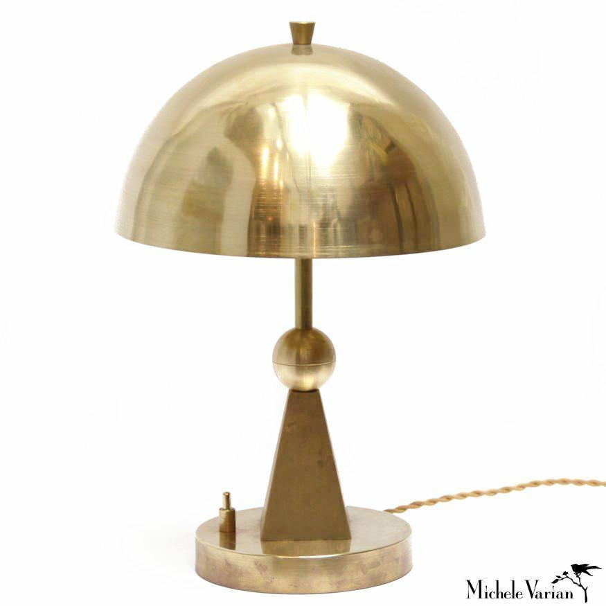 Brass Primary Shapes Table Lamp