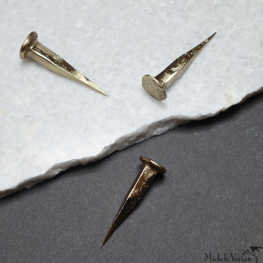 Forged Brass Finish Nail