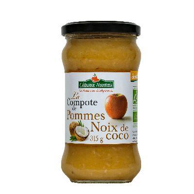 Compote Pomme Noix Coco 315g