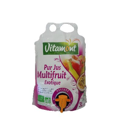 Jus Multifruits Exotique 3lt Vitamont