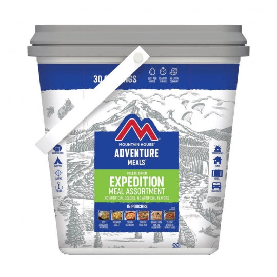 Expedition Bucket (15 pouches)