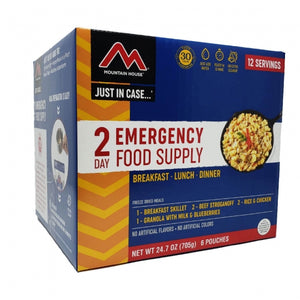 Just  in Case...®  2-Day Emergency Kit (6 pouches)