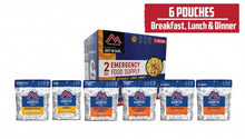 Load image into Gallery viewer, Just  in Case...®  2-Day Emergency Kit (6 pouches)