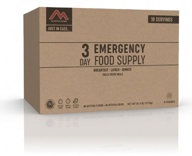 Just  in Case...®  3-Day Emergency Kit  (9 pouches)