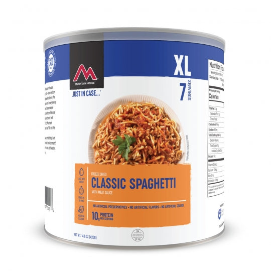 Classic Spaghetti with Meat Sauce #10 Can (6 can/case)