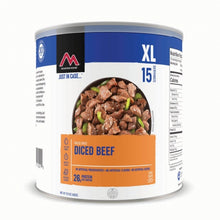 Load image into Gallery viewer, Diced Beef - GF #10 Can  (6 cans/case)