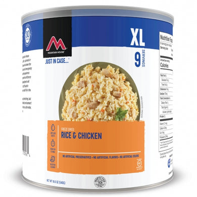 Rice and Chicken - GF #10 Can (6 can/case)