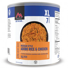 Load image into Gallery viewer, Mexican Style Adobo Rice & Chicken - GF #10 Can (6 pouches/case)