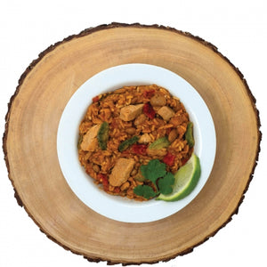 Mexican Style Adobo Rice & Chicken - GF #10 Can (6 pouches/case)
