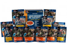Load image into Gallery viewer, Just  in Case...®  4-Day Emergency Kit (12 pouches)