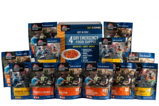 Just  in Case...®  4-Day Emergency Kit (12 pouches)