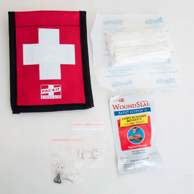 Sherrill Tree Saddle Side Blood Stopper With Wound Seal First Aid Kit