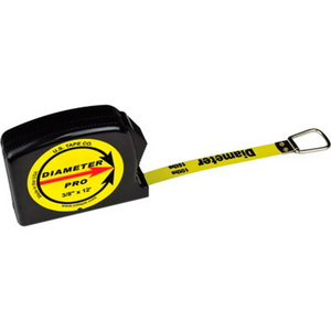 US Tape Economy Diameter Tape Measure 12ft