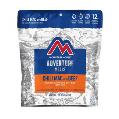 Chili Mac with Beef Pouch (6 pouches/case)