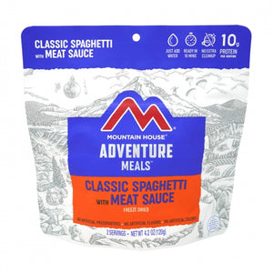 Classic Spaghetti with Meat Sauce Pouch (6 pouches/case)