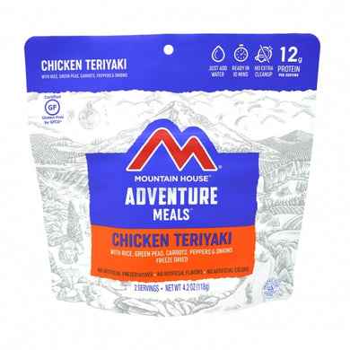 Chicken Teriyaki with Rice - GF Pouch (6 pouches/case)