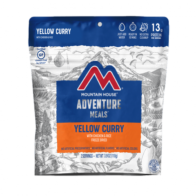 Yellow Curry with Chicken & Rice - GF (6 pouches/case)