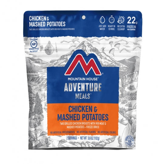 Chicken & Mashed Potato Dinner - GF Pouch (6 pouches/case)