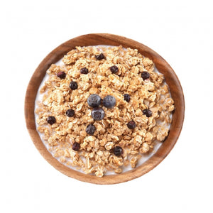 Granola  with Milk & Blueberries Pouch (6 pouches/case)
