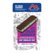 Load image into Gallery viewer, Mint Chocolate Chip Ice Cream Sandwich (12 pouches/case)