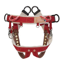 "Load image into Gallery viewer, WLC-160 Saddle with 2"" Nylon Leg Straps"