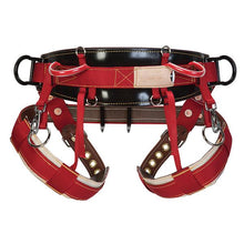 Load image into Gallery viewer, WLC-560 Saddle, Two Floating Dees & Padded Nylon Leg Straps