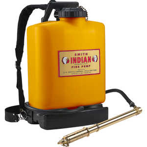 Indian Fedco 5 Gallon Poly Fire Back Pack Pump Model FER501