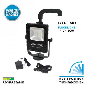 NSR-1514 Rechargeable LED Scene Light w/Magnetic Base