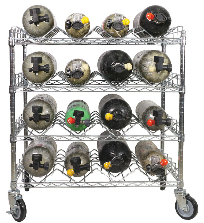 SCBA Mobile Bottle Cart