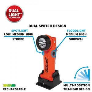 XPR-5568RX INTRANT® Intrinsically Safe Rechargeable Dual-Light™ Angle Light