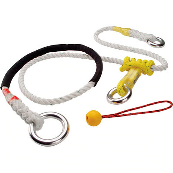 ROPE LOGIC'S ALUMINUM OR STEEL RING ADJUSTABLE FRICTION SAVER