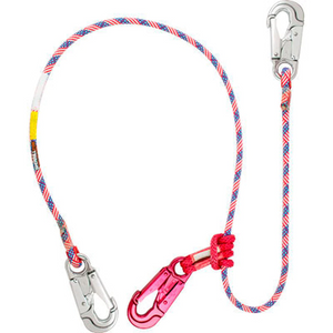 Rope Logic's Star Spangled 2-N-1 Lanyard 2 Snaps