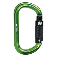 Load image into Gallery viewer, Notch Oval Aluminum Carabiner