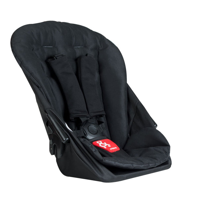 phil&teds dash lightweight inline stroller double kit in black 3 qtr view_black
