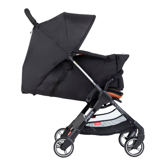 phil&teds go light and compact buggy with cocoon for extra confort_charcoal