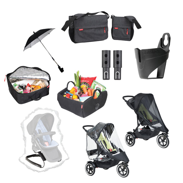 dot™ dash™ and sport™  XL inline® accessory pack