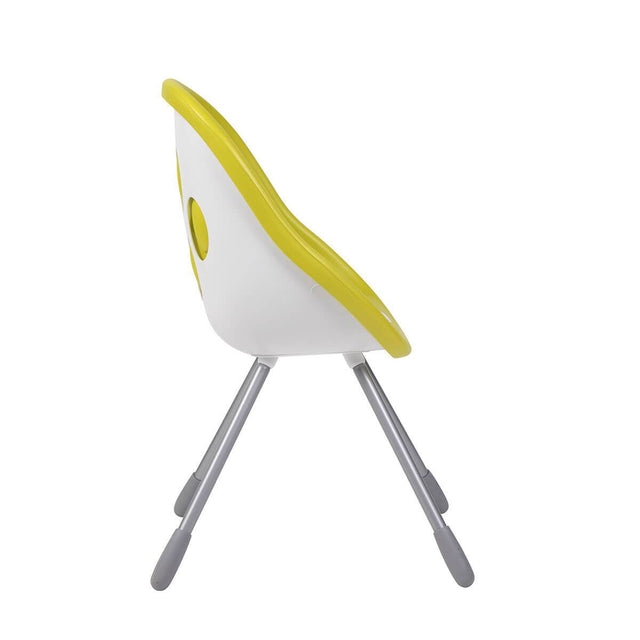 phil&teds award winning poppy my chair in lime side view _lime