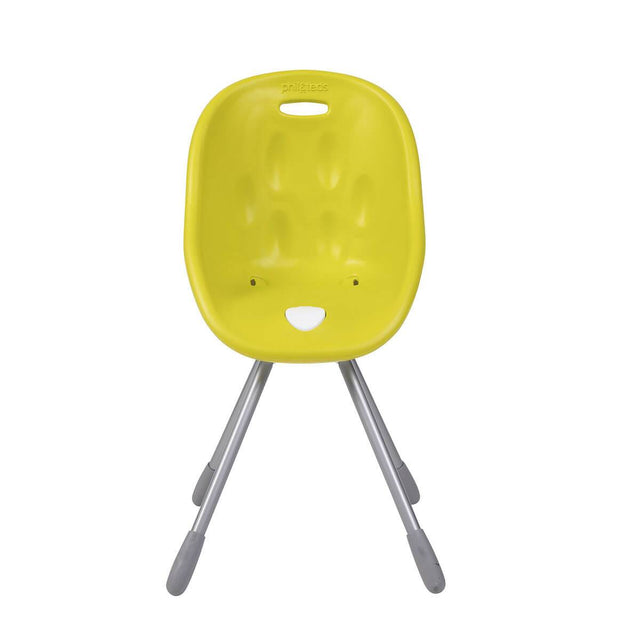 phil&teds award winning poppy my chair in lime front view _lime