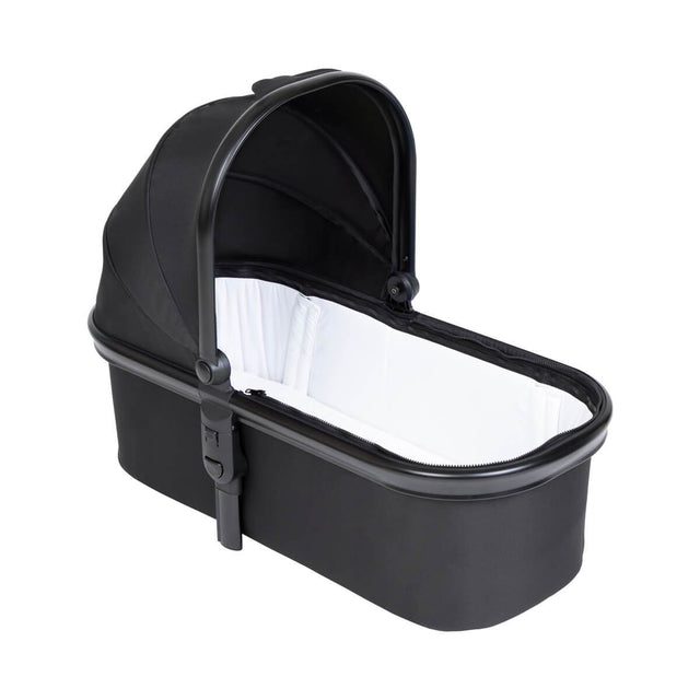 phil&teds snug carrycot with lid removed 3/4 view_black
